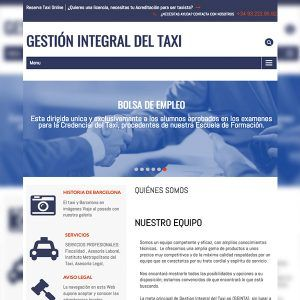 Proyecto web Taxis Barcelona